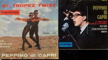 Hoy, en El Tocadiscos, Saint Tropez Twist, de Peppino Di Capri