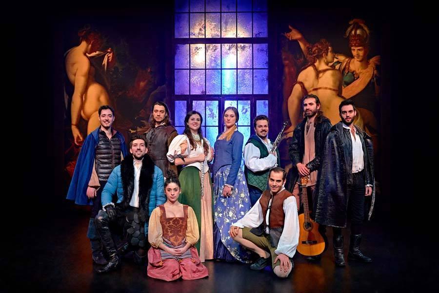 Los empeños de una casa, por la Joven Compañía Nacional de Teatro Clásico. Foto: MarcosGPunto