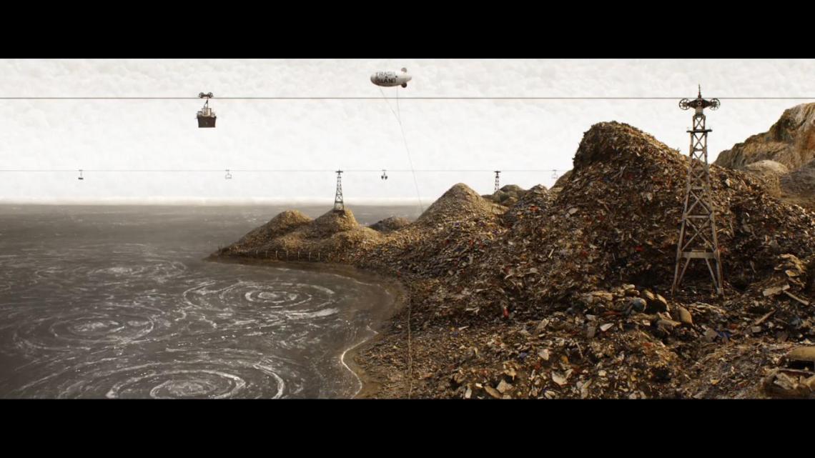 Isla de perros (Isle of Dogs): «El mundo es una gran caja de juguetes». Wes Anderson. Fotograma