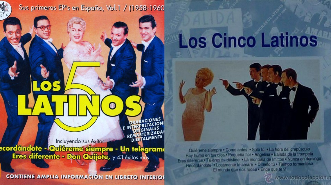 Hoy, En El Tocadiscos, la espera, con Quiéreme siempre, de Los Cinco Latinos 1
