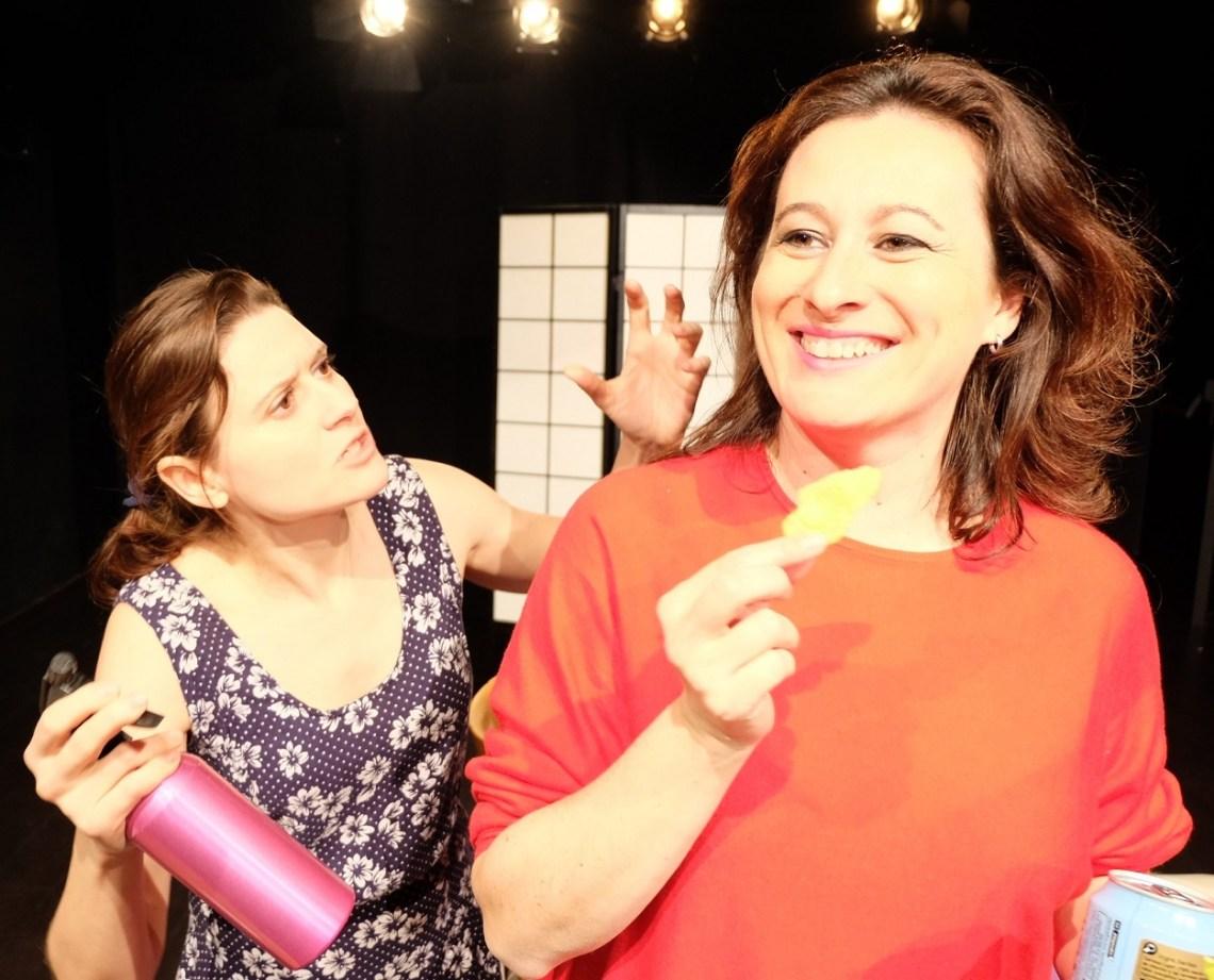 Elda García (izquierda) y Susana Hernáiz