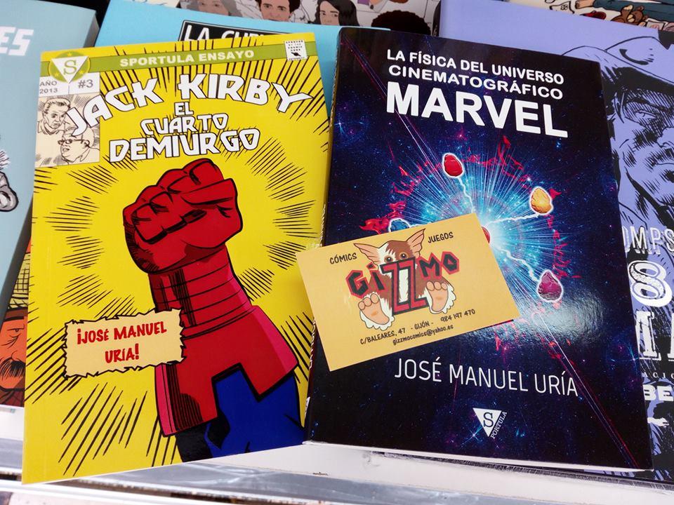 La física del Universo Cinematográfico Marvel, de José Manuel Uría