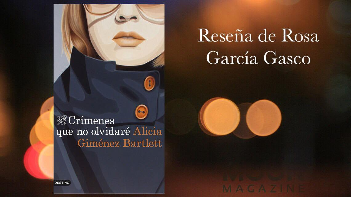 Crímenes que no olvidaré, Alicia Giménez Bartlett: Petra Delicado en nueve variopintos casos
