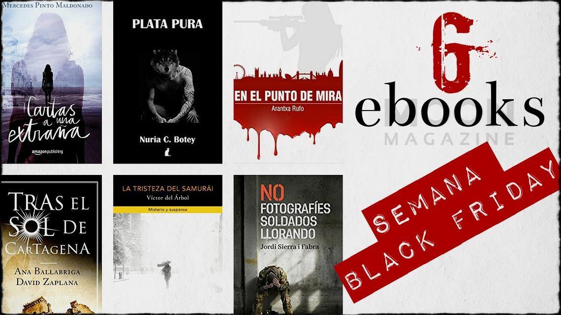Semana Black Friday: eBooks que puedes leer gratis hasta diciembre