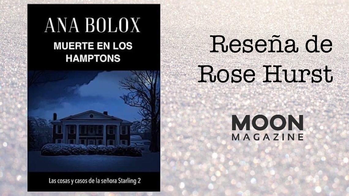 Muerte en los Hamptons, de Ana Bolox: un misterio cozy con nieve... mucha nieve