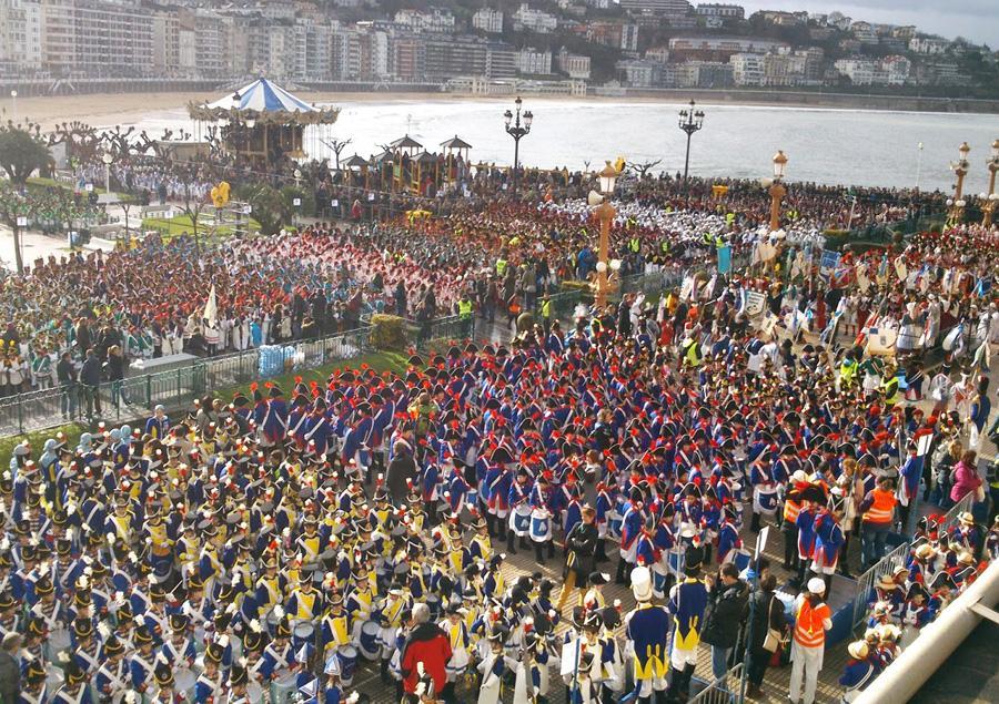 San Sebastián, la ciudad que resurgió de sus propias cenizas 1