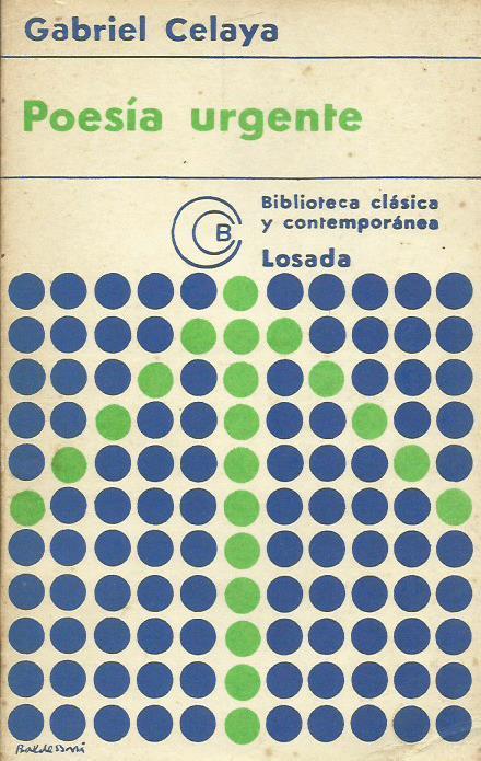 Gabriel Celaya y sus versos de conmovida urgencia