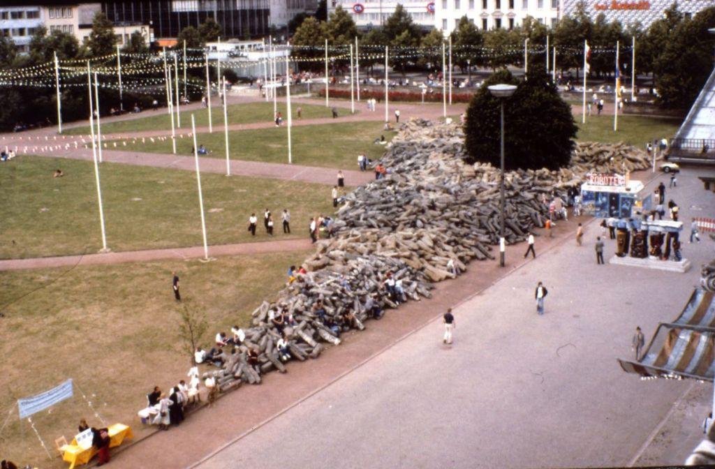 Artivismo. «7000 robles», de Joseph Beuys