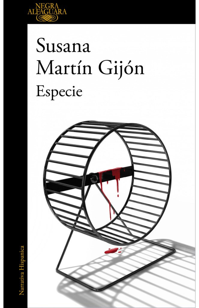 Especie, novela policiaca de Susana Martín Gijón.