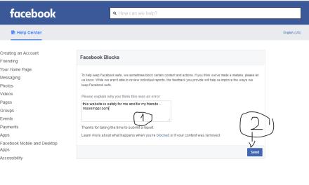 تواجهك مشكله من الدخول من الفيس بوك اليك الحل ..