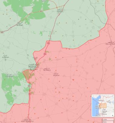Syrie. L'armée libère le Maarat al-Numan