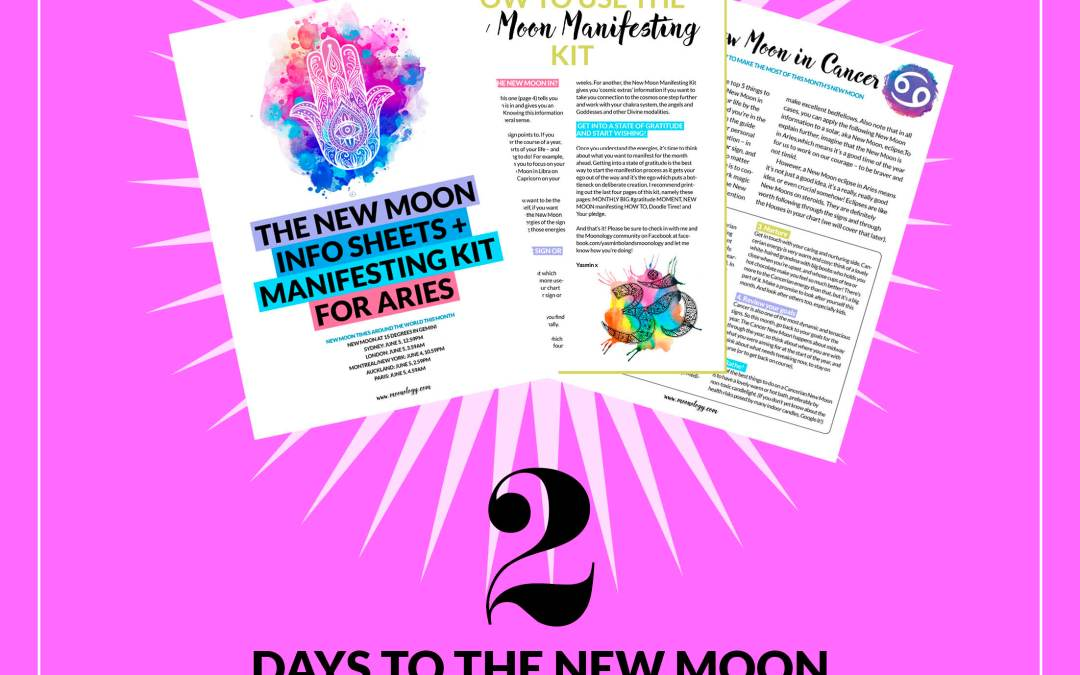 Inside: this month's Cosmic Dates and New and Full Moon times