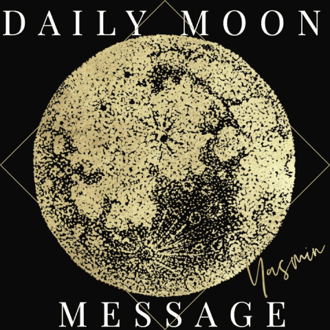 Daily Moon Message Image