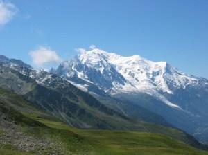 mont blanc summer