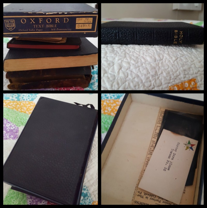 The Dora Thorward-Plume Bible