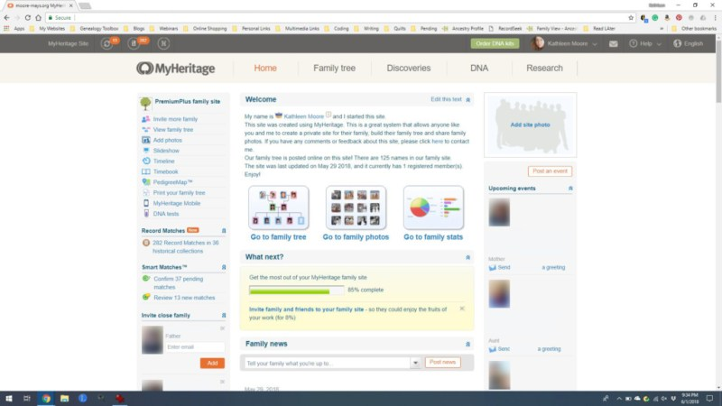 myheritage screen shot