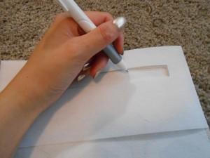 Marking zipper piece
