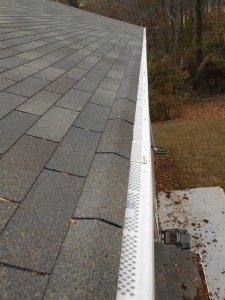 Clean Gutter Roof Guards Installed
