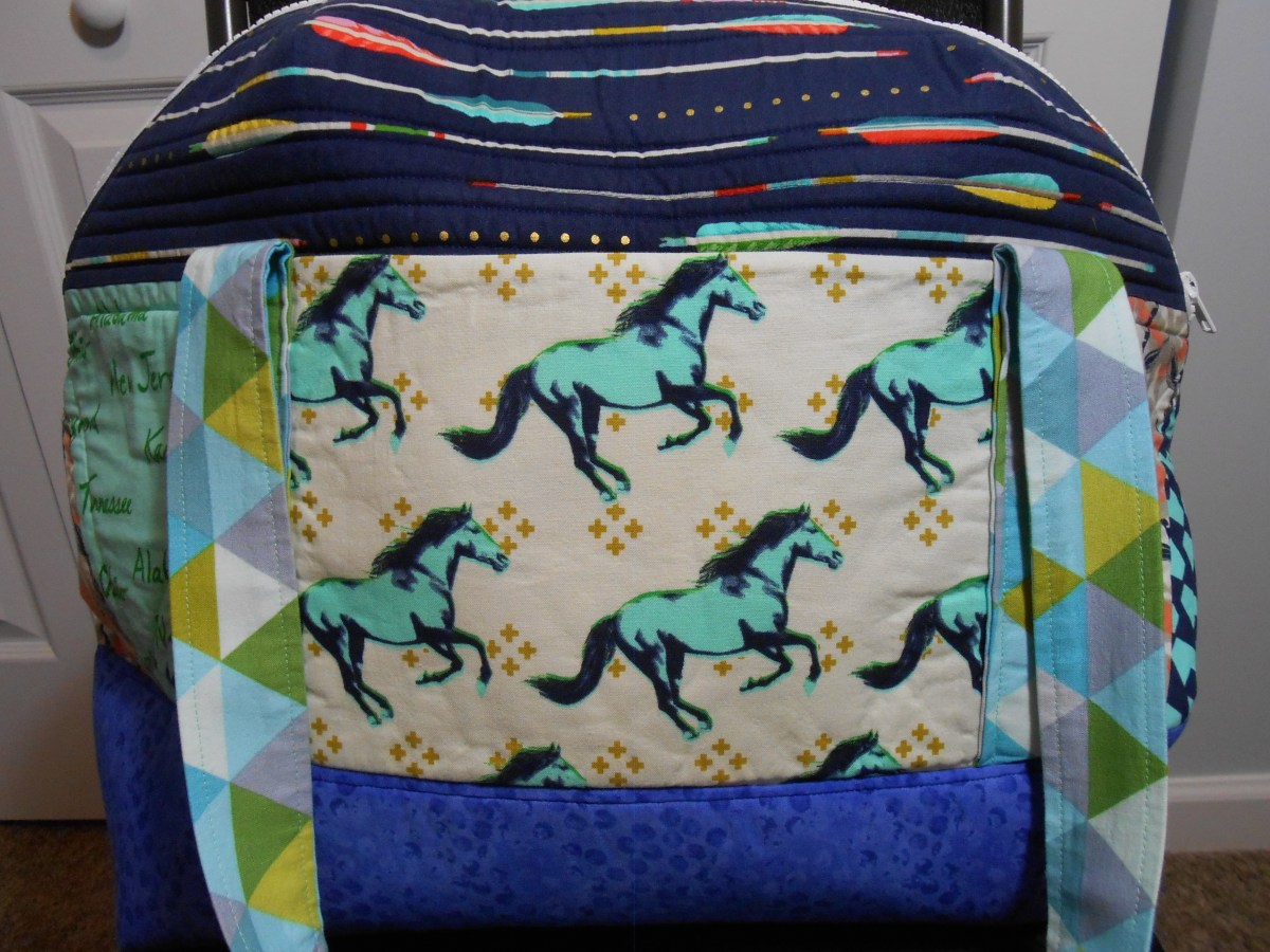 Pattern Review: Aeroplane Bag by Sew Sweetness
