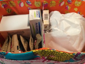 Get Well Gift Basket Idea Finished