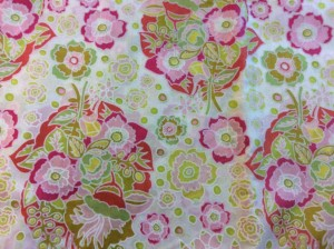 Anna Maria Horner Little Folks Baby Bouquet Sweet Voile fabric