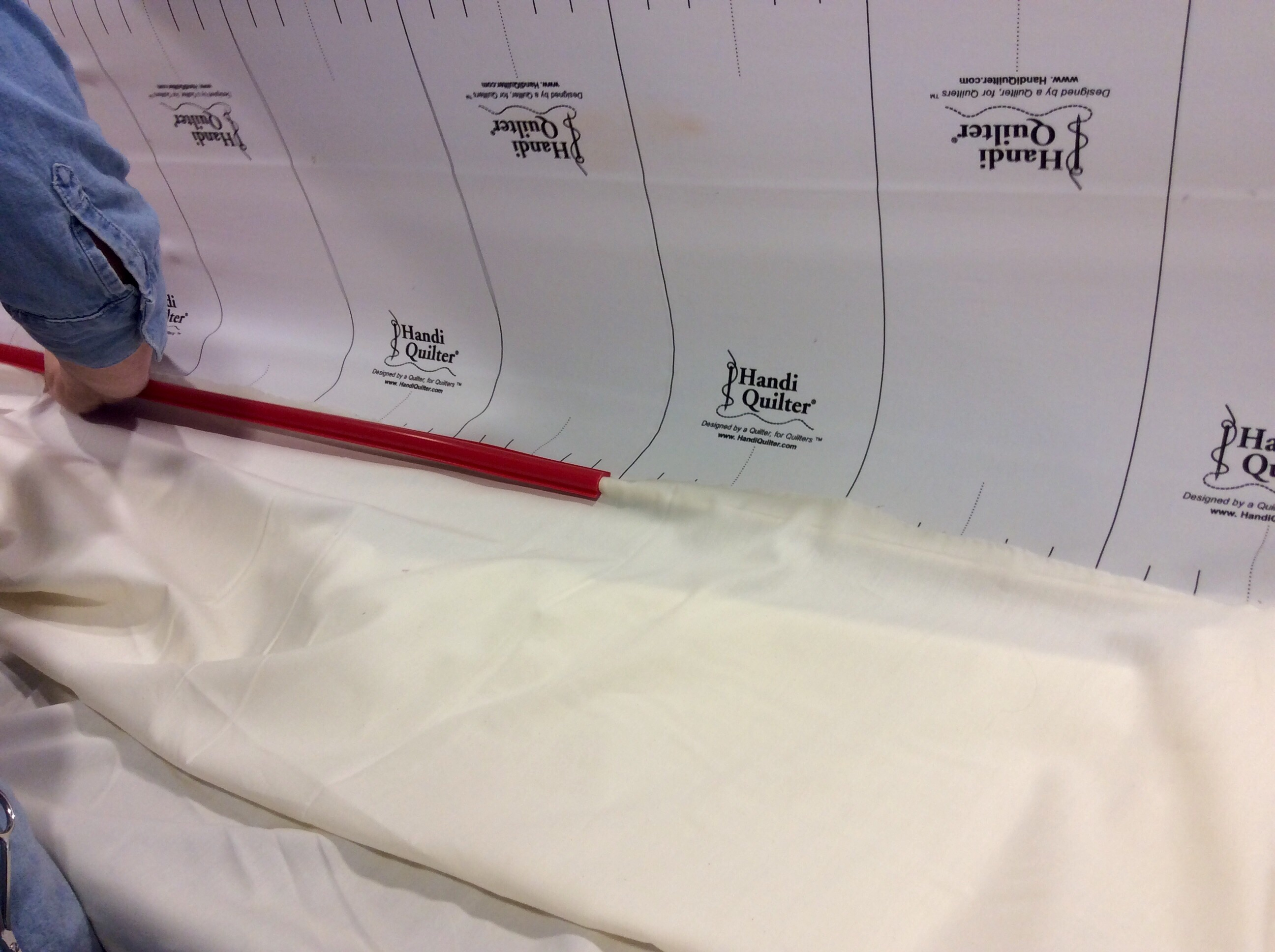 5 Hour Crash Course in Longarm Quilting – MOORE APPROVED : red snapper quilt clamps - Adamdwight.com