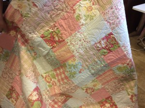 Cheryl Ashley Serafine pink quilt