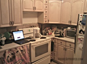 Moore Approved St Petersburg House Kitchen Before