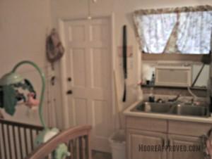 Moore Approved St Petersburg House Kitchen Door Before