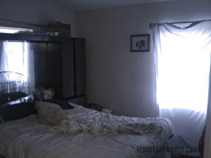 Moore Approved St Petersburg House Master Bedroom Before