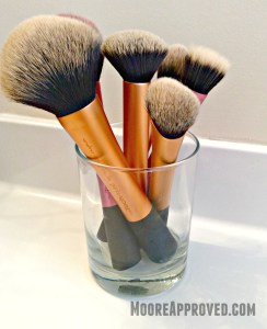 Real Techniques Samantha Chapman Makeup Brushes