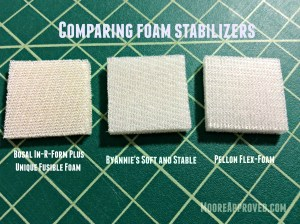 Moore Approved Comparing Foam Stabilizers
