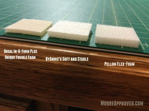 Moore Approved Foam Stabilizer Comparison cross section view