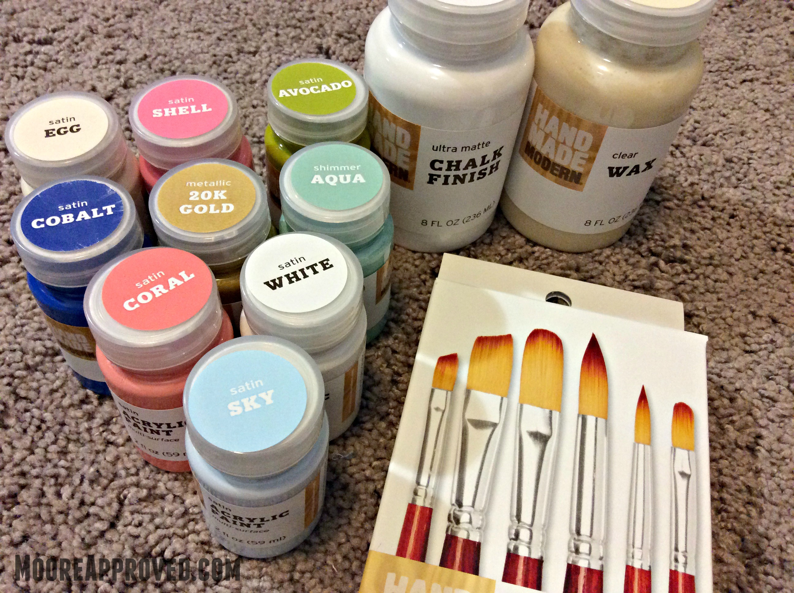 Tar s Hand Made Modern Acrylic & Chalk Paints – MOORE APPROVED
