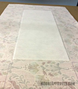Moore Approved On The Go Fabric Basket Fusing Interfacing and Peltex 70 to Fabric
