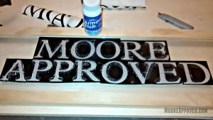 Workshop Progress Etched Glass Transom Window Custom Moore Approved