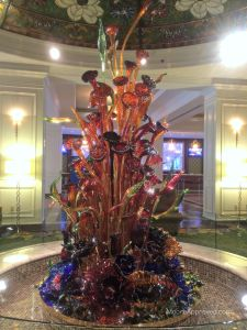 Gaylord Opryland Resort Hotel Nashville Glass Blown Sculpture Cascades Lobby Resurgence Decor Art