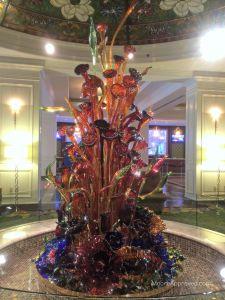 Gaylord Opryland Resort Hotel Nashville Glass Blown Sculpture Cascades Lobby Resurgence Decor Art