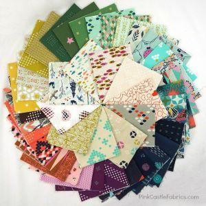 Pink Castle Fabrics Cotton and Steel Bundle watermark