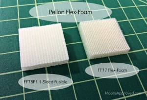 Moore Approved Pellon Flex Foam Comparison Sew In 1 One Sided Fusible review graphics