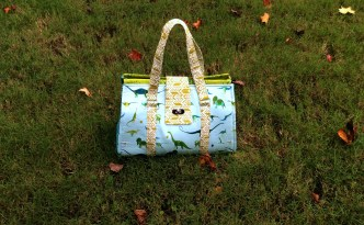Moore Approved Swoon Patterns Nora Doctor Bag Alison Glass Sun Print Lizzy House Natural History Fabric wide