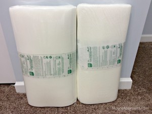 Quilted Cube Case Moore Approved Pellon Fusible Flex Foam FF77