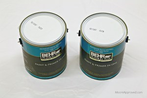 Moore Approved Behr Premium Plus Exterior Paint Primer Satin Enamel White