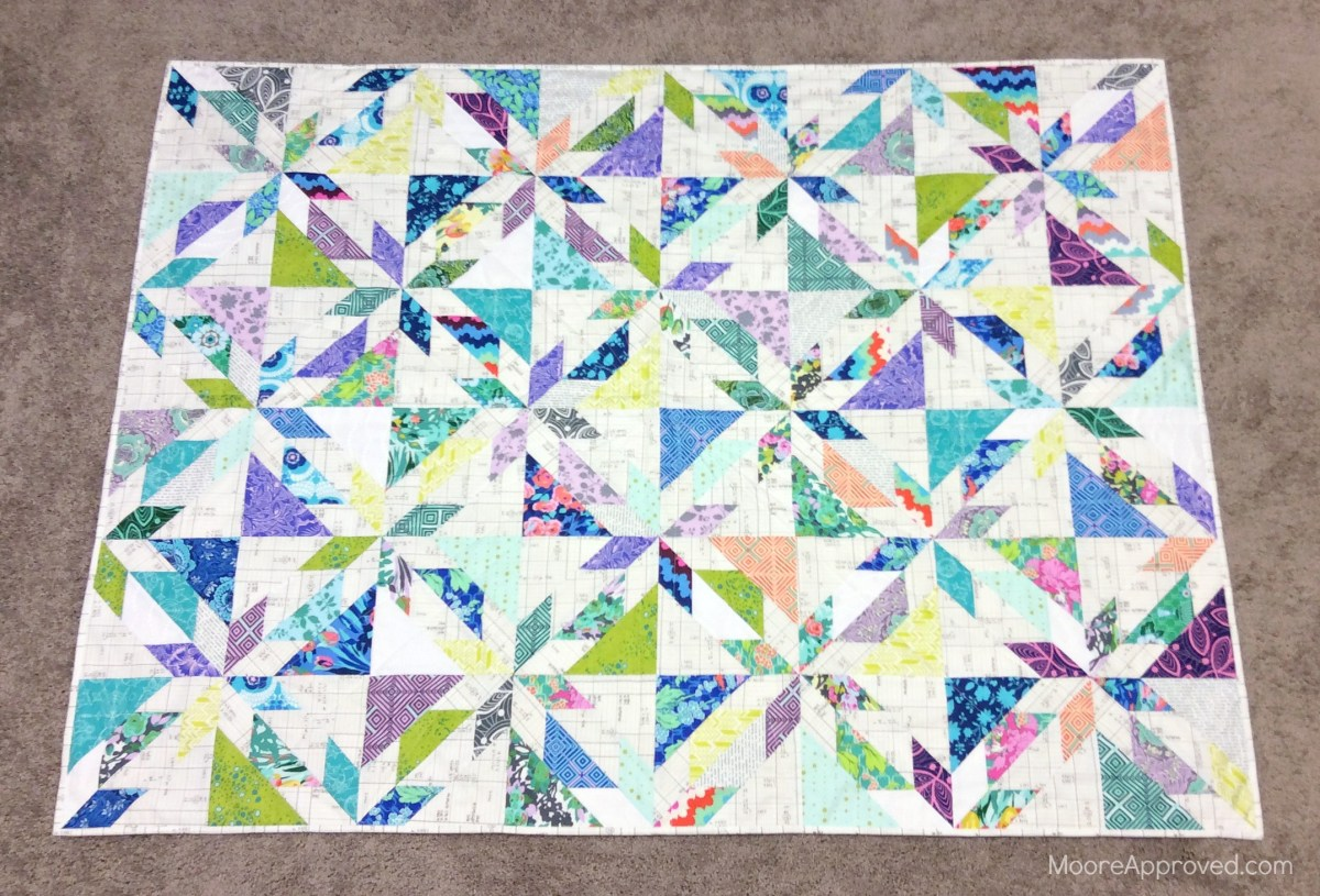 Quilting Tips: Scotchgard Your Fabric, Marking Quilt Lines, Spinning Seams