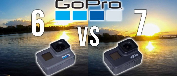 GoPro Hero 6 vs 7