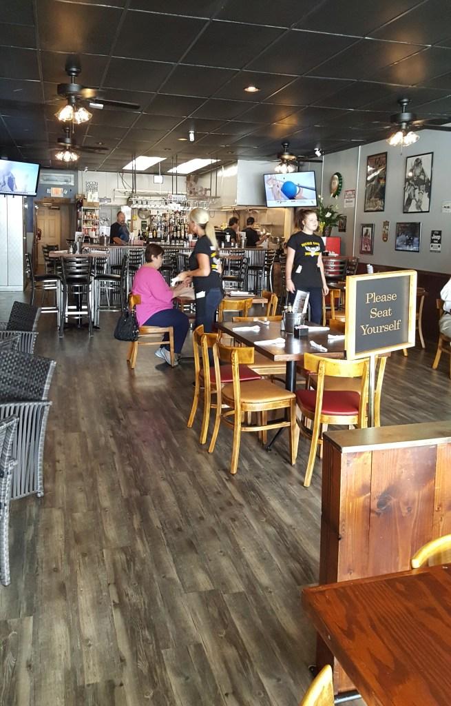 double eagle bar & grill interior