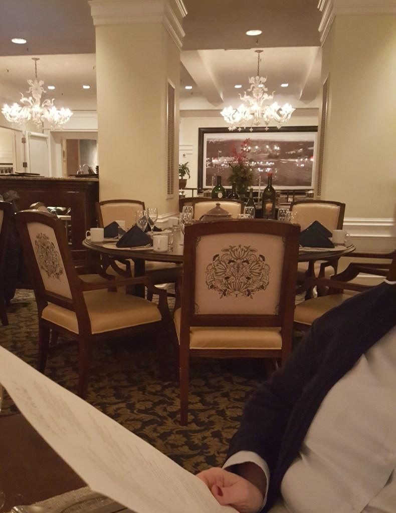 carolina dining room interior