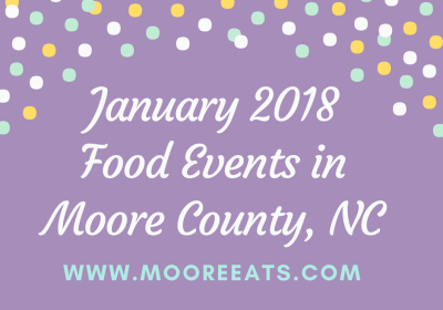 january 2018 food events