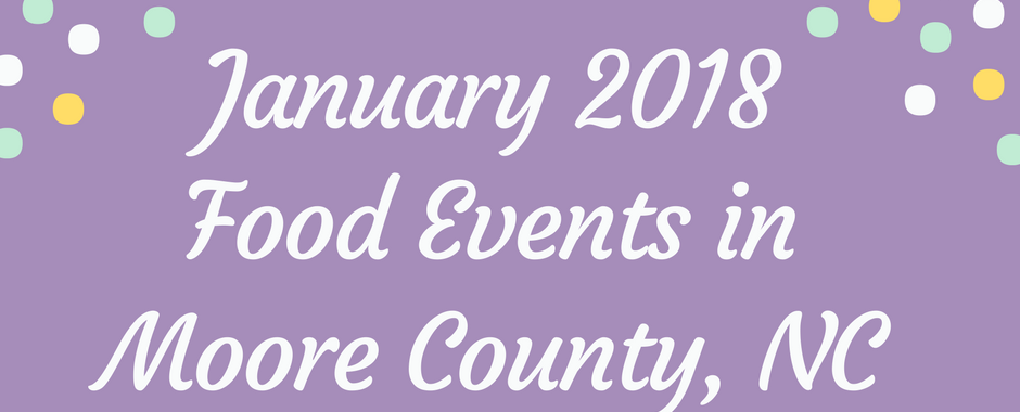 january 2018 food events