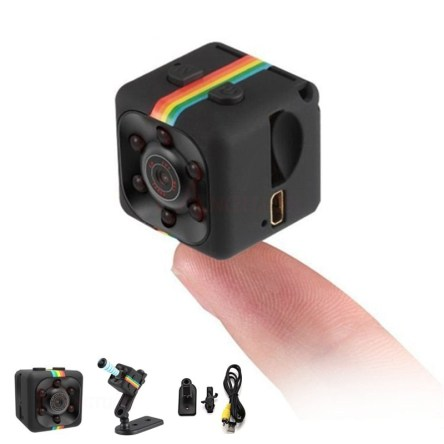 Miniature HD 1080P Camcorder Camera with DVR and Night Vision